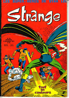 Strange  N° 24   Editions   Lug    Marvel