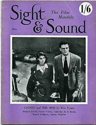 SS51-20-1 SIGHT AND SOUND 1951 James Cagney MICHAEL POWELL UK MAGAZINE