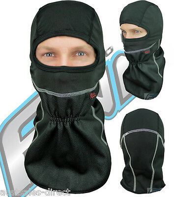 Black Windproof Motorcycle Balaclava Face Mask Winter Neck Warmer Finn Moto
