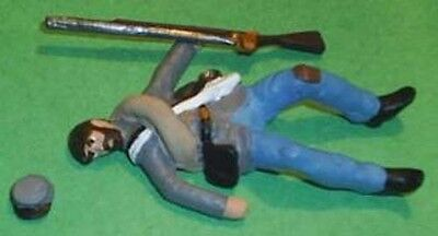 TOY SOLDIERS TIN AMERICAN CIVIL WAR WOUNDED CONFEDERATE 54MM