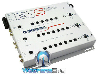 White Eqs Audio Control 6-Channel 40 Bands Pre Amp Equalizer Audiocontrol New