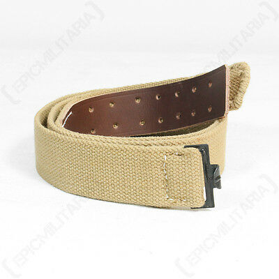 WW2 German Army AFRIKA KORPS Webbing Belt -Tropical Enlisted Man ALL SIZES New