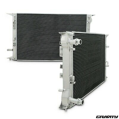 40Mm High Flow Alloy Radiator Rad For Audi A4 B8 8K A5 A6 Q3 Q5 1.8 2.0 Tdi Tfsi