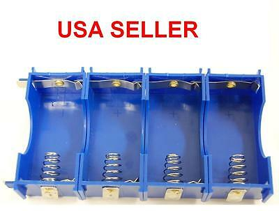 D Battery Holder, Snap Together Series or Parallel Many Configurations & Voltage