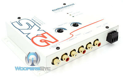 White 2Xs Audio Control 2-Channel 9 Volts Electronic Crossover Audiocontrol New