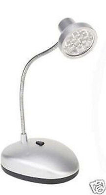 CRAFTING 14 LED LIGHT TABLE LAMP BRIGHT COMPACT CRAFT