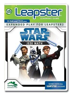 LeapFrog Leapster & leapster 2 Learning Game: Star Wars pre-k-2nd grade new