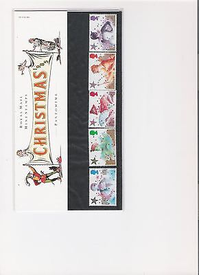 1985 Royal Mail Presentation Pack Christmas Pantomime Mint Decimal Stamps