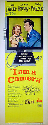 I AM A CAMERA 1955 Julie Harris, Laurence Harvey US INSERT POSTER