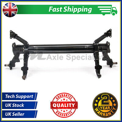 Refurbished rear axle to fit Peugeot Partner Combi/MPV*2 YEARS FACTORY WARRANTY*
