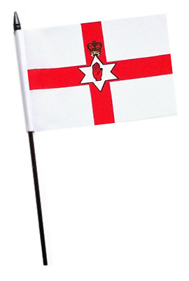 Northern Ireland Small Hand Waving Flag