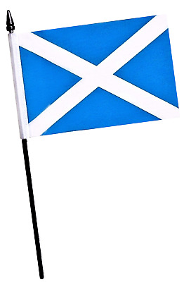 Scotland St Andrews Saltire Small Hand Waving Flag