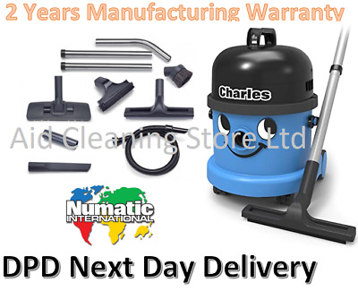 Numatic Charles Wet Dry Vacuum Cleaner Hoover CVC370 240V 1200w MOTOR 2017 MODEL