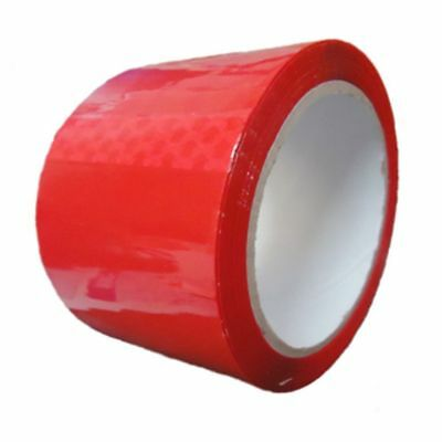 Parcel Packing Tape RED Coloured Packaging 48mm x 66m FREE P&P x 1 ROll