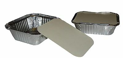 No1 Takeaway  Aluminium Foil Food Containers & Lids x 500