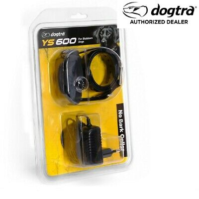 DOGTRA YS600 No Bark Collar Quick Charge + Pager Stop Dog Barking Yapper Stopper