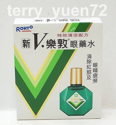 New V Rohto Plus Eye Drop Eye Drops eyedrop eyedrops 13ml