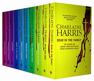 True Blood Charlaine Harris Sookie Stackhouse Series 10 Book Set Pack Collection