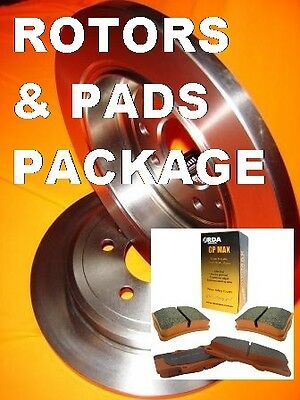 RDA Ford Falcon BA BF FG  REAR Brake Pads & Disc Brake Rotors PACKAGE & WARRANTY