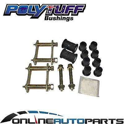 Rodeo 4x4 1988on Greasable Leaf Spring Shackle + Pin + Polyurethane Bush Kit