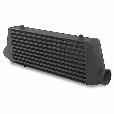 "2.5"" Black Edition Turbo Fmic Custom Kit Car Race Boost Front Mount Intercooler"
