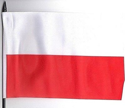 Poland Medium Hand Waving Flag