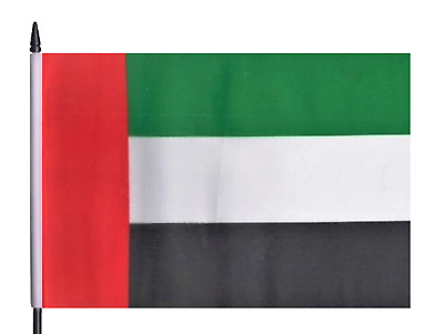United Arab Emirates UAE Medium Hand Waving Flag