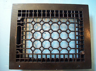 "8"" x 10"" insert Honeycomb Heating grate No fins (G 385)"