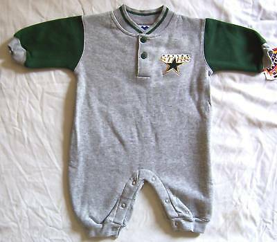 Dallas Stars Baby Infant Romper Creeper Coverall One Piece Outfit NWT 6/9M