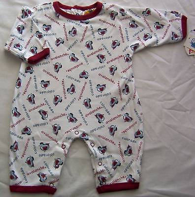 Colorado Avalanche Baby Infant Romper Creeper One Piece Coverall 18M NWT