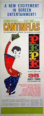 PEPE 1960 Cantinflas, Shirley Jones, Dan Dailey, Maurice Chevalier US INSERT