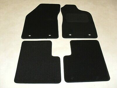 Alfa Romeo Giulietta Manual 2010-14 Fully Tailored Car Floor Mat Set in Black