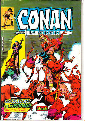 Conan  Le  Barbare  :n°7   Editions   Aredit Marvel Color