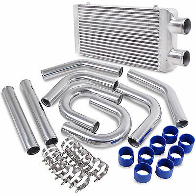 Alloy Front Mount Intercooler Kit For Volkswagen Golf Mk5 Mk6 Gti Fsi Jetta 2.0T