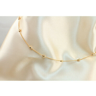 18k Gold Filled Beads Belly Chain or Belt, 100 cm Long Chain, New Design-TK199