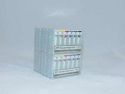 Absorbent Paper Points No 15-40 Kit /12 Boxes META