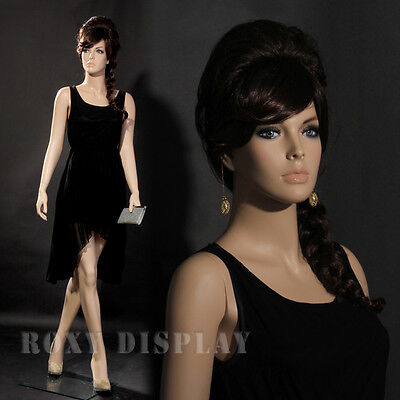 Female Fiberglass Display Mannequin Manikin Manequin Dummy  Dress Form MZ-ZARA6