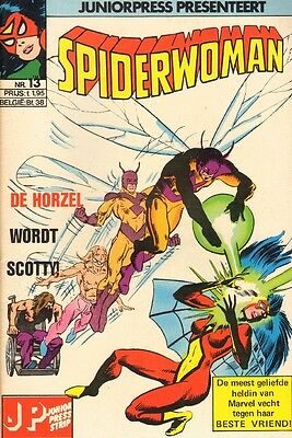 Spiderwoman 13 - De Horzel Wordt Scotty  (1982)