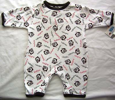 Buffalo Sabres Baby Infant Romper Creeper One Piece Coverall Outfit 18M NWT