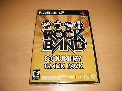 Rock Band Country Music Track Pack PS2 New Sealed Rare Out of Print OOP