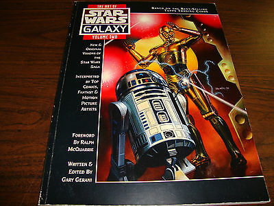 Star Wars---The Art Of Star Wars Galaxy---Volume 2---First Edition---1994