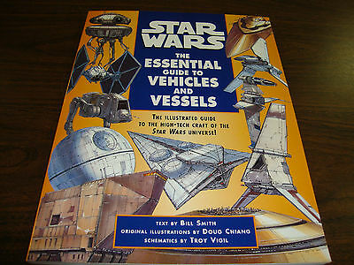 Star Wars---The Essential Guide To Vehicles & Vessels---First Edition---1996