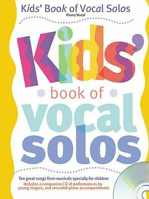 Kids Book Of Vocal Solos Learn to SING CHILDRENS EASY PIANO PVG Music Book