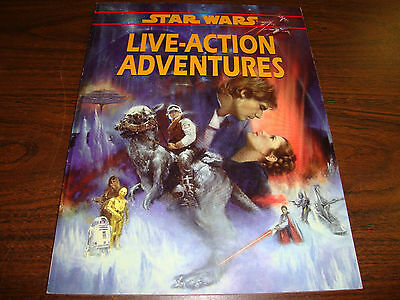 Star Wars---Live-Action Adventures---RPG---128 Pages---1996