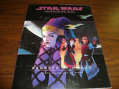 Star Wars---Secrets Of Naboo---RPG---96 Pages---2001