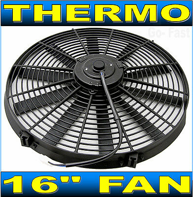"""16"""" RADIATOR FAN THERMO FAN ELECTRIC COOLING FAN 16 INCH with MOUNTING KIT"""