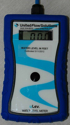 uLev Water Level Meter (uLev Sensor Required)