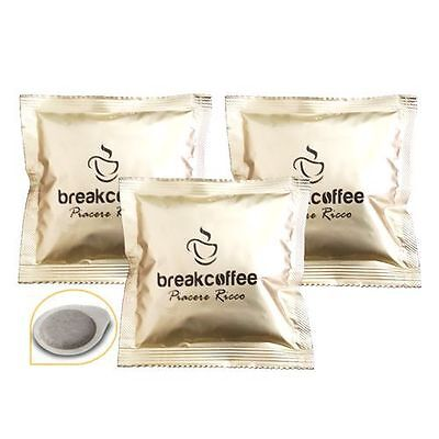 600 Cialde Caffe' Filtro Carta 44Mm Break Coffee Piacere Ricco Break Shop