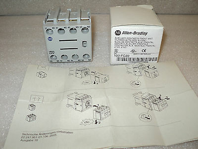 Allen Bradley 100-FC22 Series B Auxiliary Contacts NEW IN BOX 100FC22-B