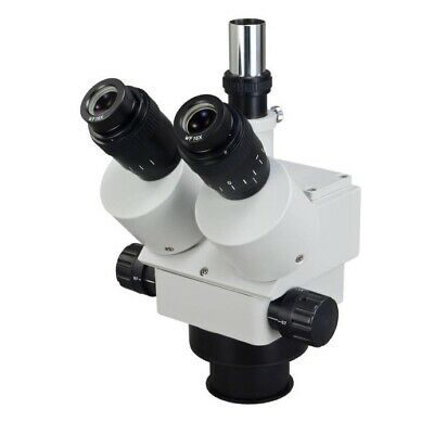 3.5X-90X Trinocular Zoom Power Stereo Microscope Body Only 84mm Mounting Size